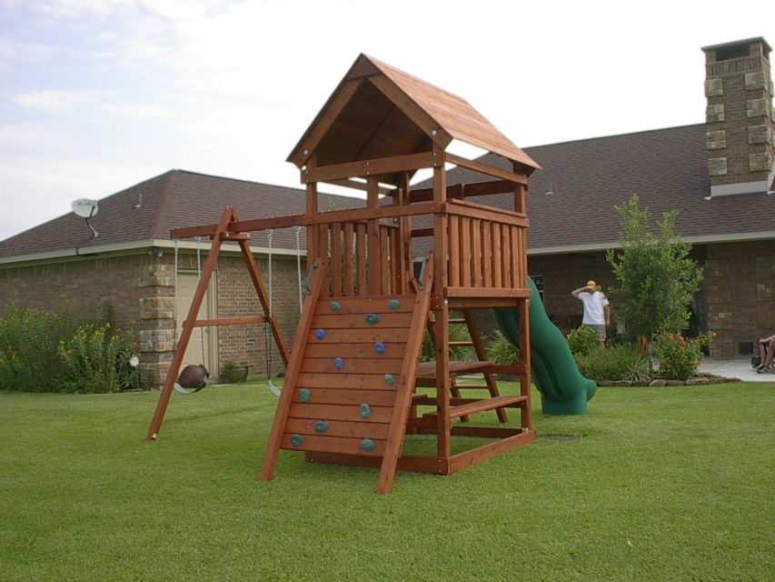 Plans To Build Your Own Swing Set