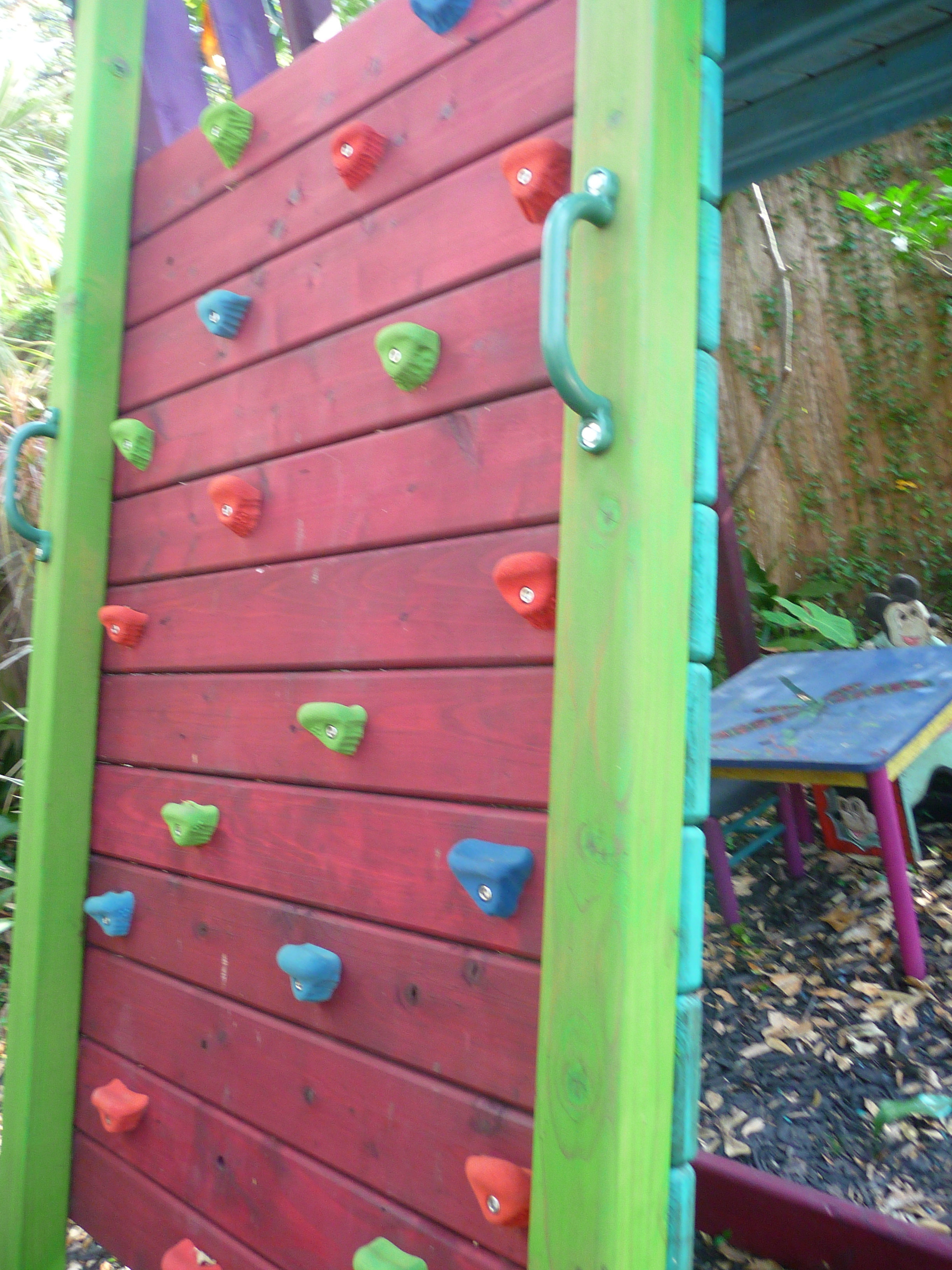 Diy Inclined Rock Climbing Wall Plans