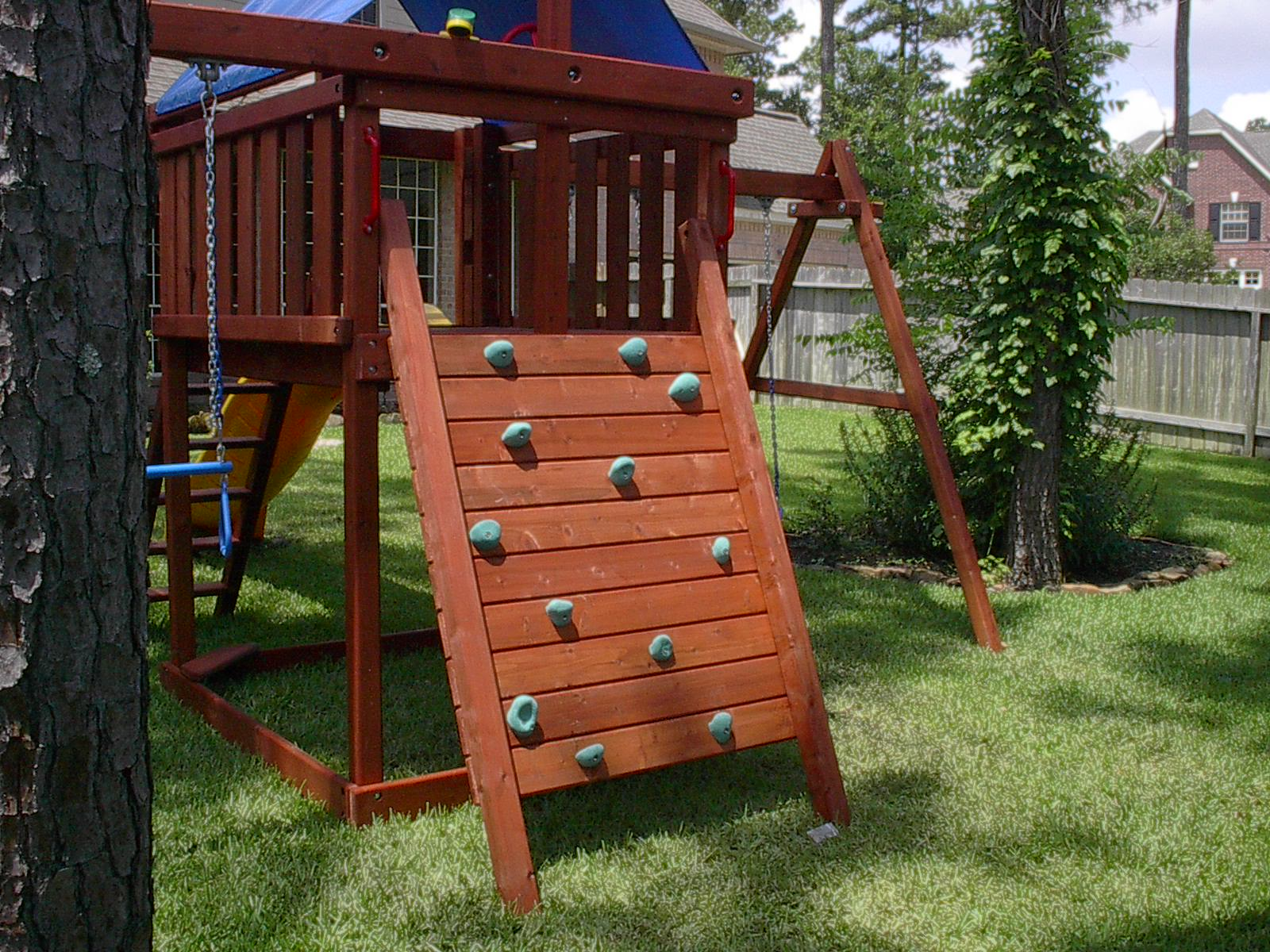 Apollo Playset Diy Wood Fort And Swingset Plans